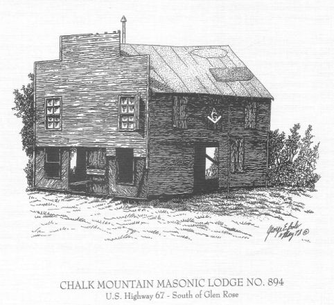 Old Chalk Mountain Lodge